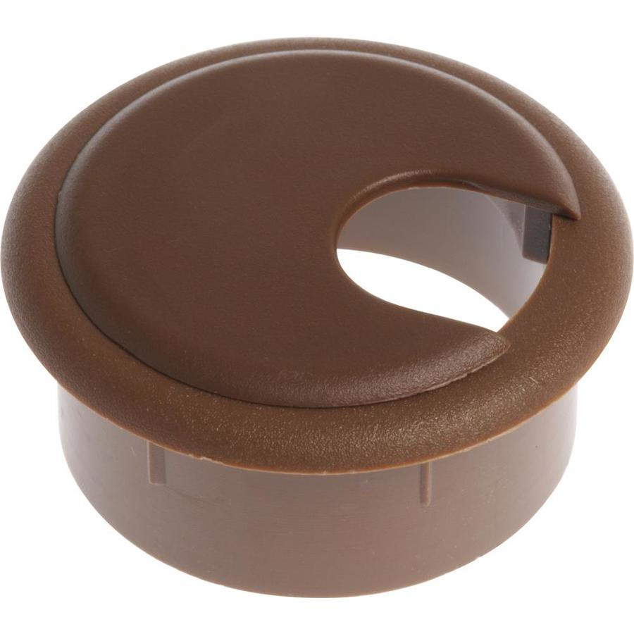 The Hillman Group 2-Pack 2-1/2-in Plastic Desk Grommets