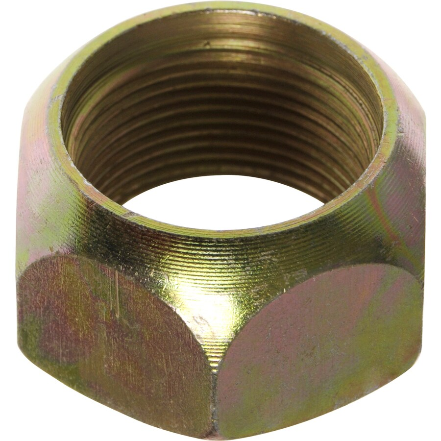 The Hillman Group 3-Count 1-1/8-in Yellow Zinc Standard (Sae) Right-Handed Lug Nuts