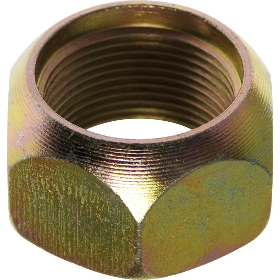 The Hillman Group 3-Count 1-1/8-in Yellow Zinc Standard (Sae) Left-Handed Lug Nuts