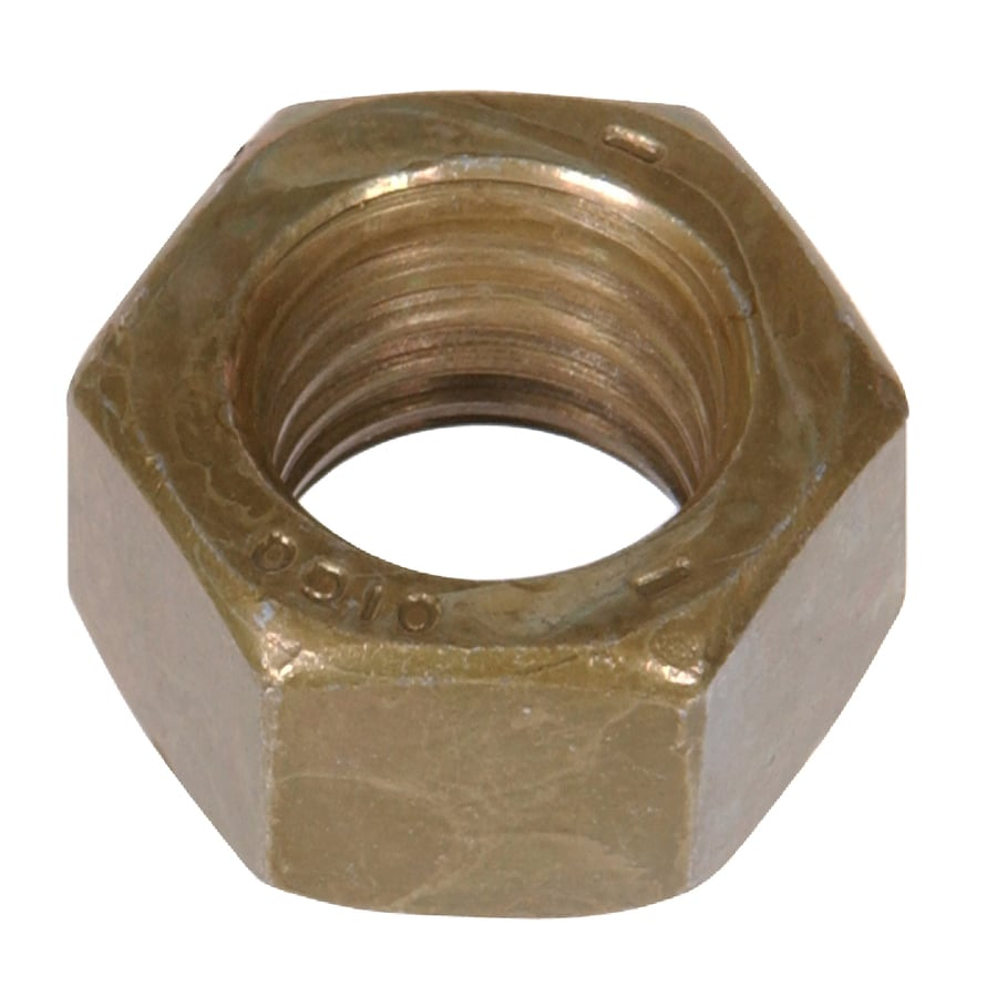 The Hillman Group 10-lb 7/16-in Zinc-Plated Standard (SAE) Hex Nuts