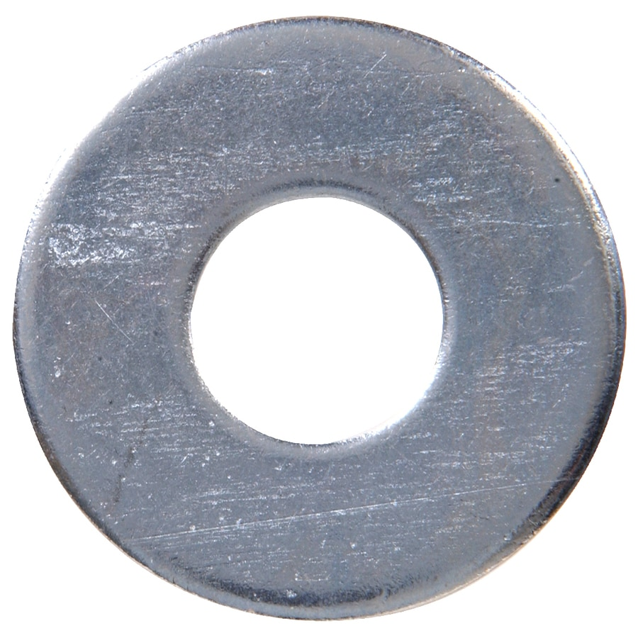The Hillman Group 50-Count 9/16-in Zinc-Plated Standard (SAE) Flat Washers