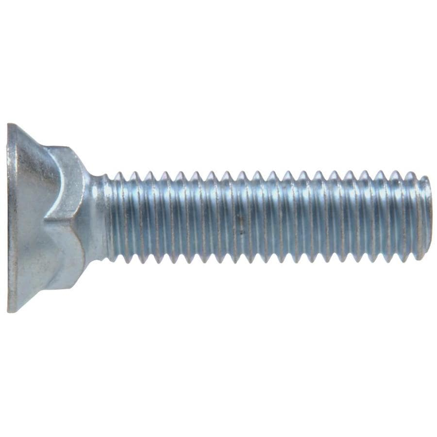 The Hillman Group 10-lb 7/16-in x 3-in Zinc-Plated Standard (SAE) Plow Bolts