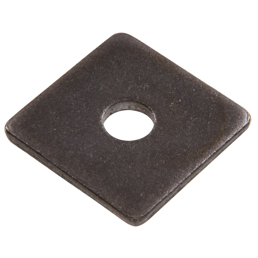 The Hillman Group 100-Count 1-in Plain Steel Standard (SAE) Square Washers