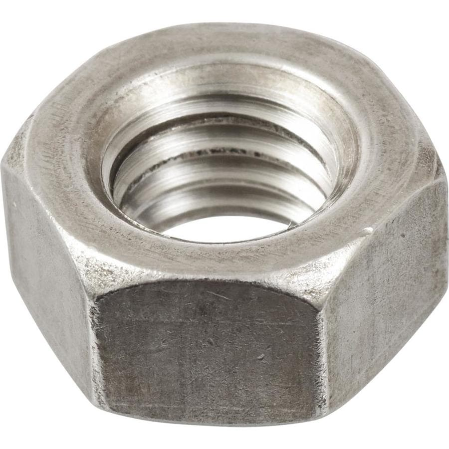 The Hillman Group 4-Count 3/4-in Stainless Steel Standard (SAE) Hex Nuts