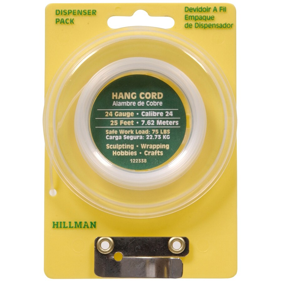 The Hillman Group 25-ft Nylon Picture Hanging Cord