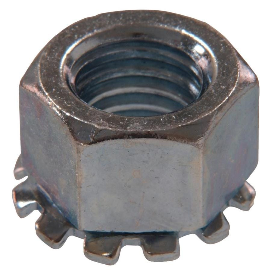 The Hillman Group 2-Count 1/4-in Zinc-Plated Standard (SAE) Keps Lock Nuts