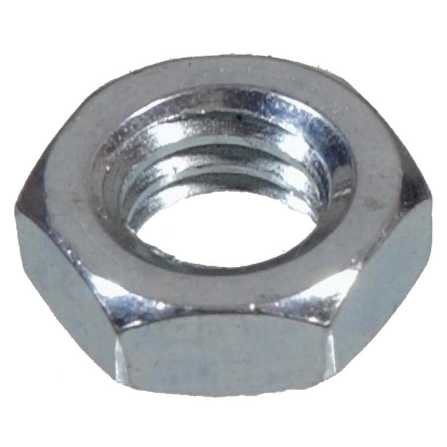 The Hillman Group 4-Count 5/16-in Zinc-Plated Standard (SAE) Jam Nuts