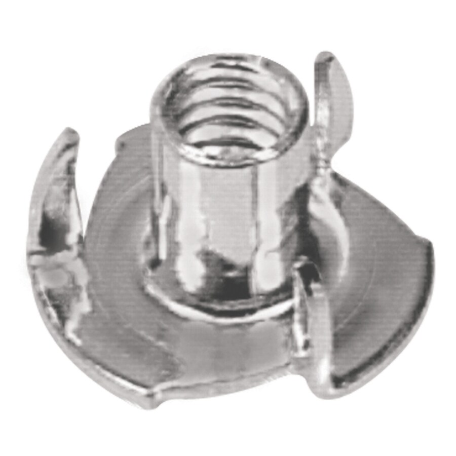 The Hillman Group 2-Count #10 Zinc-Plated Standard (SAE) 3-Prong Tee Nuts