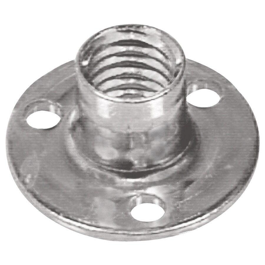 The Hillman Group 2-Count #8 Zinc-Plated Standard (SAE) Brad Hole Tee Nuts