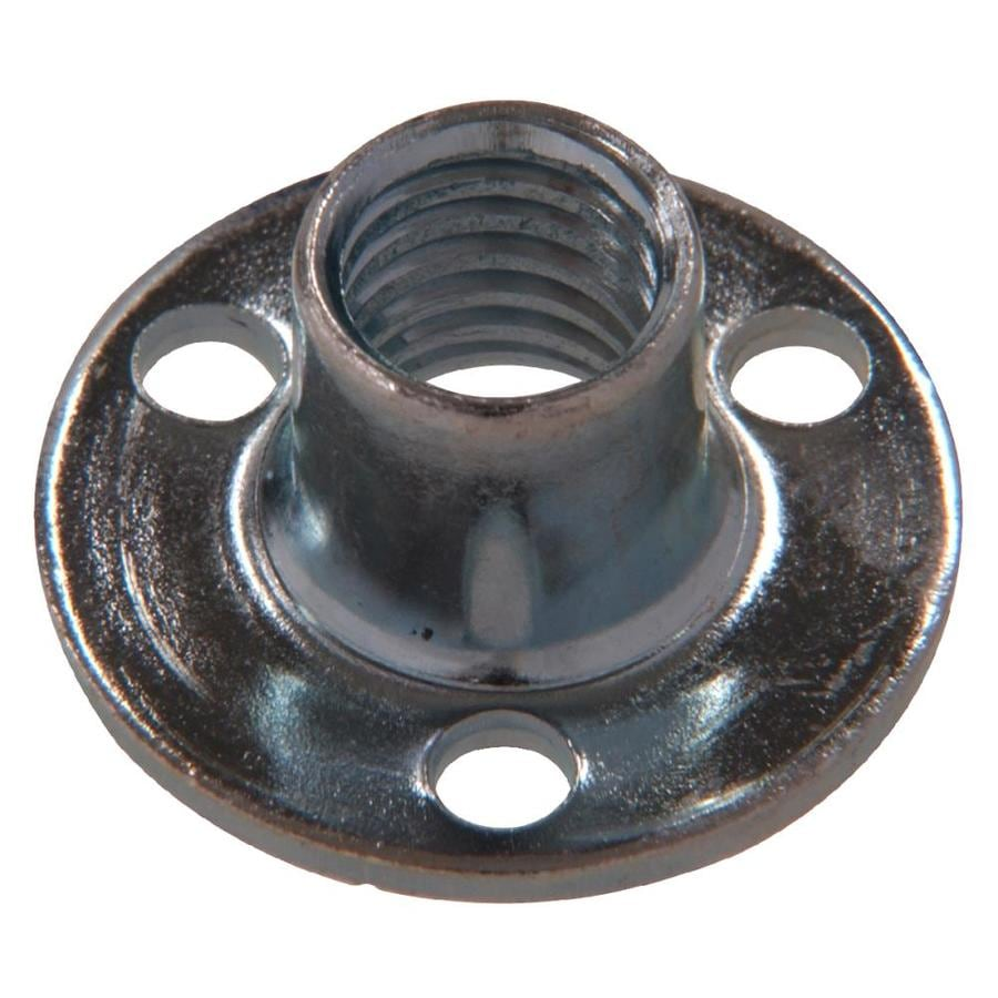 The Hillman Group 2-Count #10 Zinc-Plated Standard (SAE) Brad Hole Tee Nuts