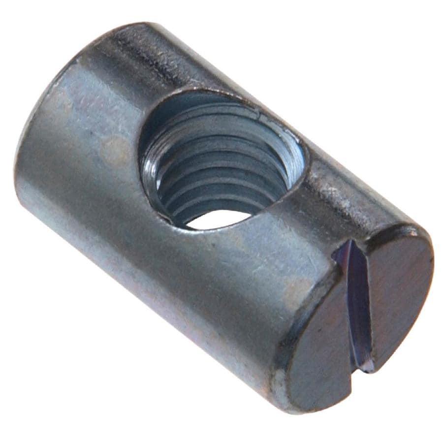 The Hillman Group 5/16-in x 3/4-in Plain Steel Barrel Nut