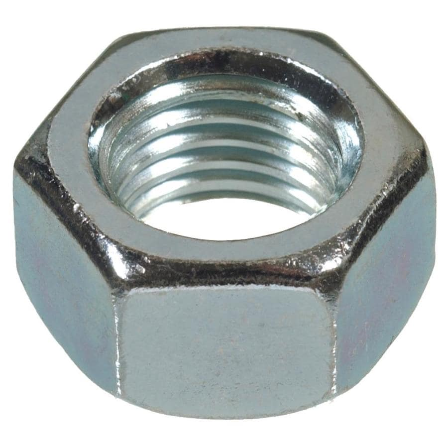 The Hillman Group 5-Count 7mm Zinc-Plated Metric Hex Nuts