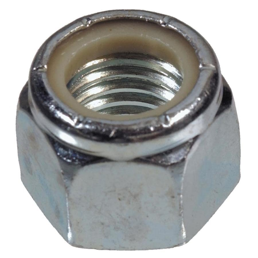 The Hillman Group 4-Count 8mm Zinc-Plated Metric Nylon Insert Lock Nuts