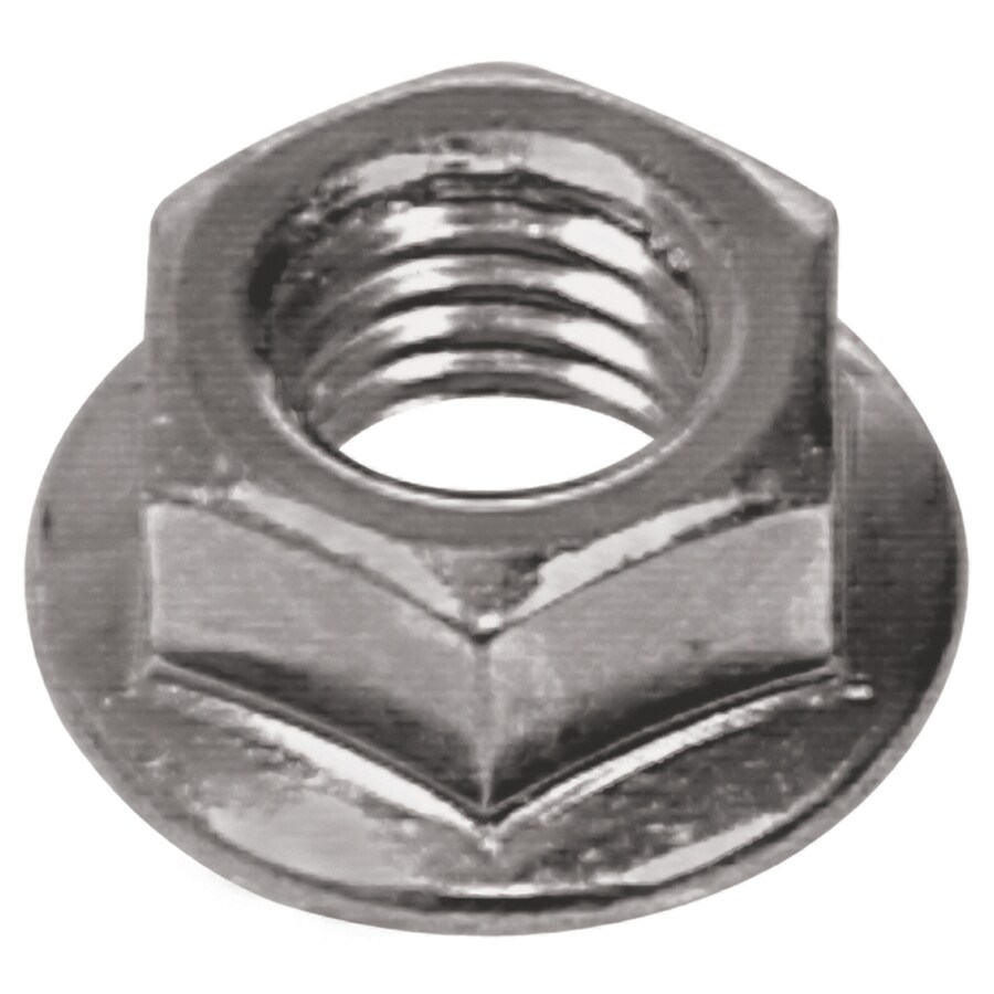The Hillman Group 2-Count 12mm Zinc-Plated Metric Flange Nuts