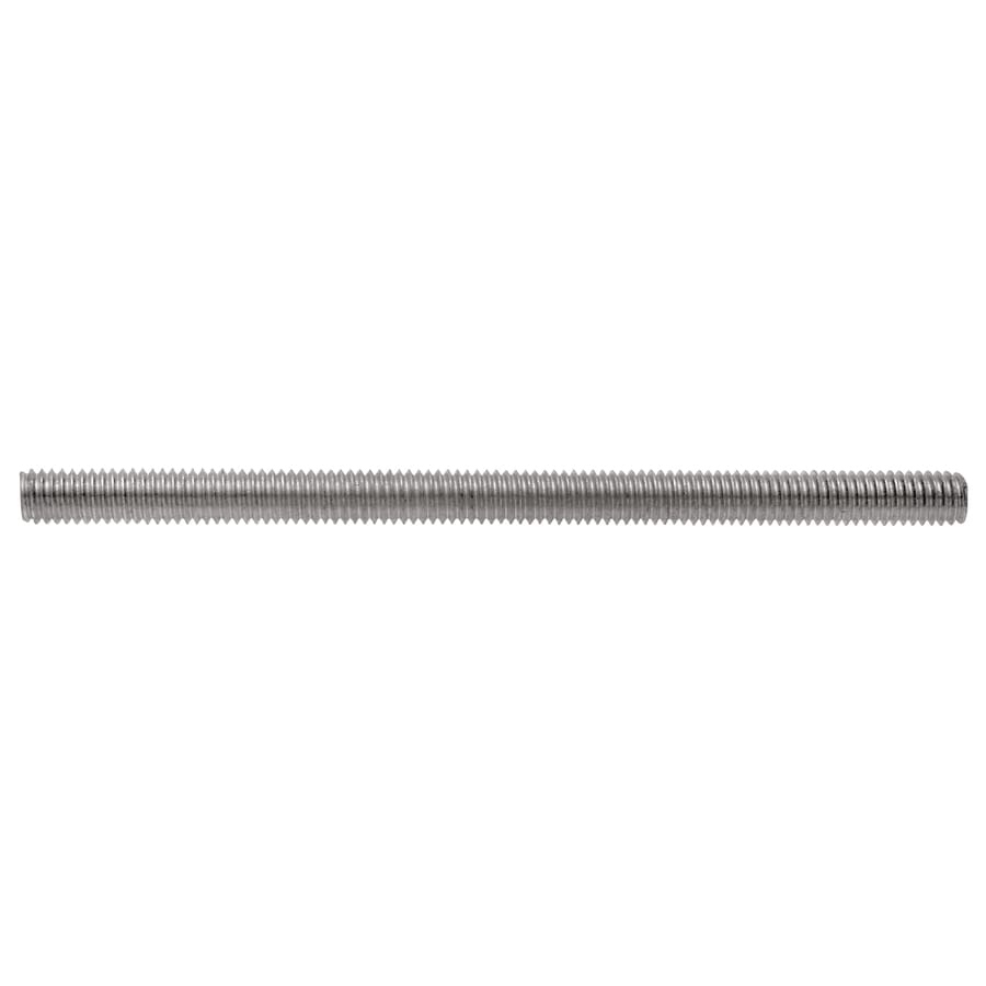 The Hillman Group 1/4-in x 6-in Standard (SAE) Threaded Rod