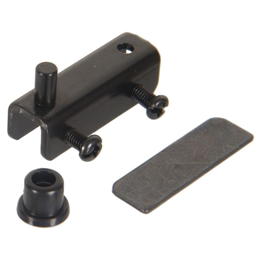 The Hillman Group 1/2-in x 1-1/2-in Black Mortise Cabinet Hinge