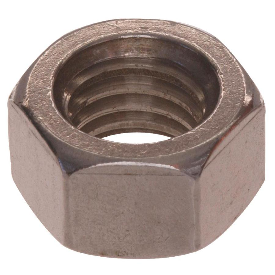 The Hillman Group 5-Count 10mm Stainless Steel Metric Hex Nuts