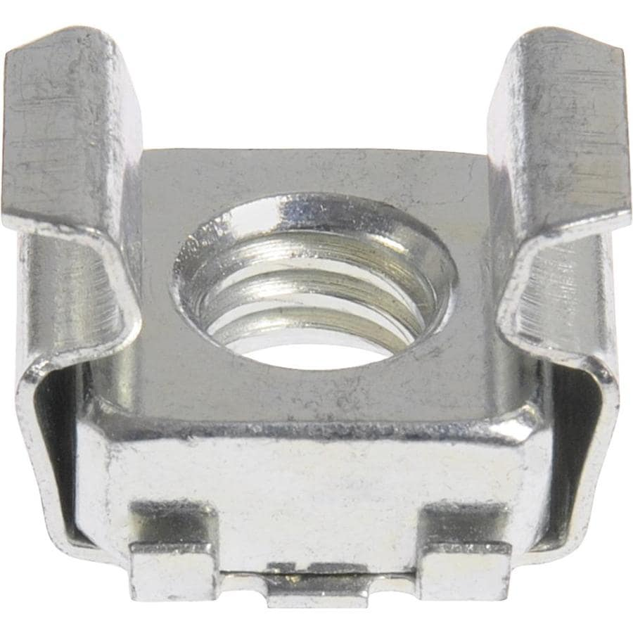 The Hillman Group 12-Count #8 Zinc-Plated Standard (SAE) Cage Nuts