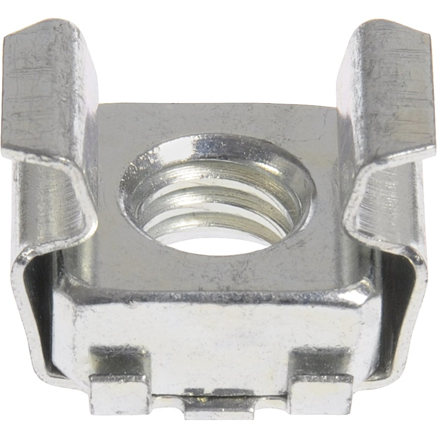 The Hillman Group 12-Count 1/4-in Zinc-Plated Standard (SAE) Cage Nuts