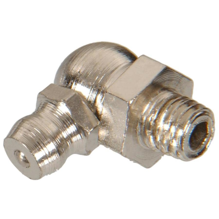 The Hillman Group 90-Degree Button Head Parallel Grease Fitting