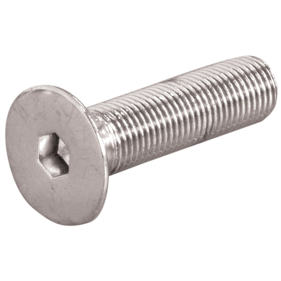 The Hillman Group 10-Count 6-mm-1.0 x 25-mm Flat-Head Stainless Steel Allen-Drive Metric Socket Cap Screws