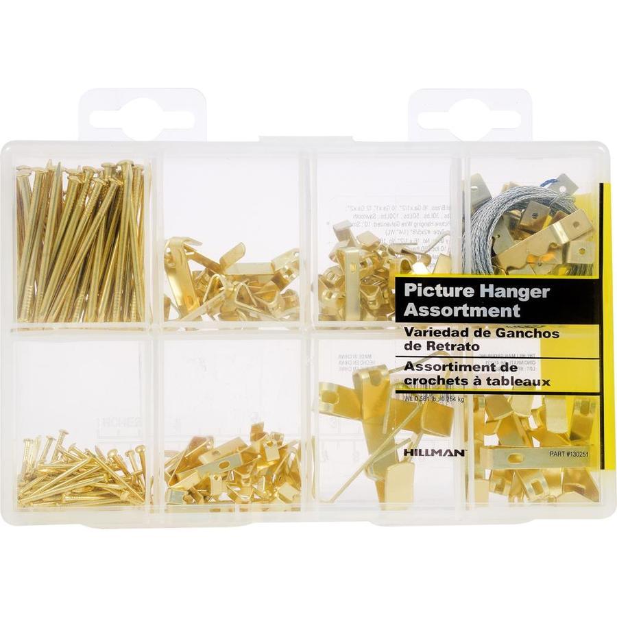Hillman Classic Picture Hanger Value Kit 42086 Hardware Hangers
