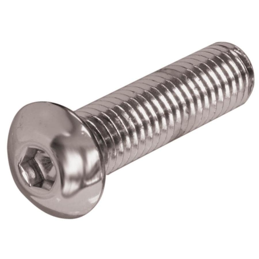 The Hillman Group 3-Count #10-32 x 3/4-in Button-Head Stainless Steel Allen-Drive Socket Cap Screw