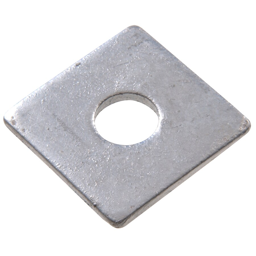 The Hillman Group 2-in x 2-in Hot Dip Galvanized Slotted Bearing Plate 5/8-in