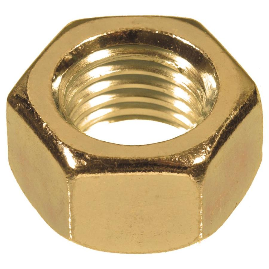 The Hillman Group 3-Count #4-40 Brass Standard (SAE) Hex Nuts