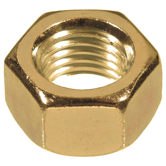 40-Pack 12-24-Inch The Hillman Group 942 Brass Hex Nut