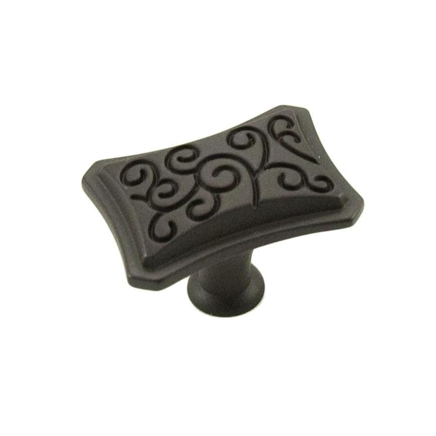 RK International Palermo Oil-Rubbed Bronze Rectangular Cabinet Knob