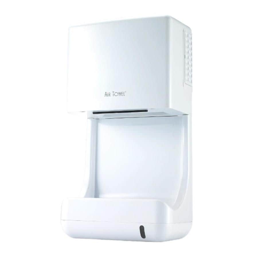 Air Towel White Touchless Hand Dryer