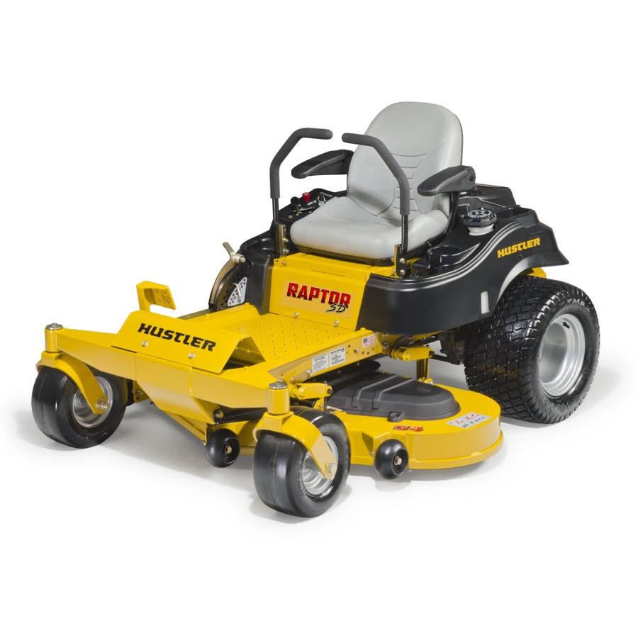 Hustler Raptor SD 23-HP V-Twin Dual Hydrostatic 54-in Zero-Turn Lawn Mower