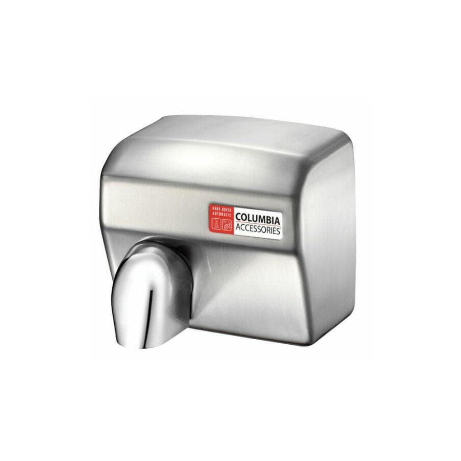 PSISC Satin Chrome Touchless Commercial Hand Dryer