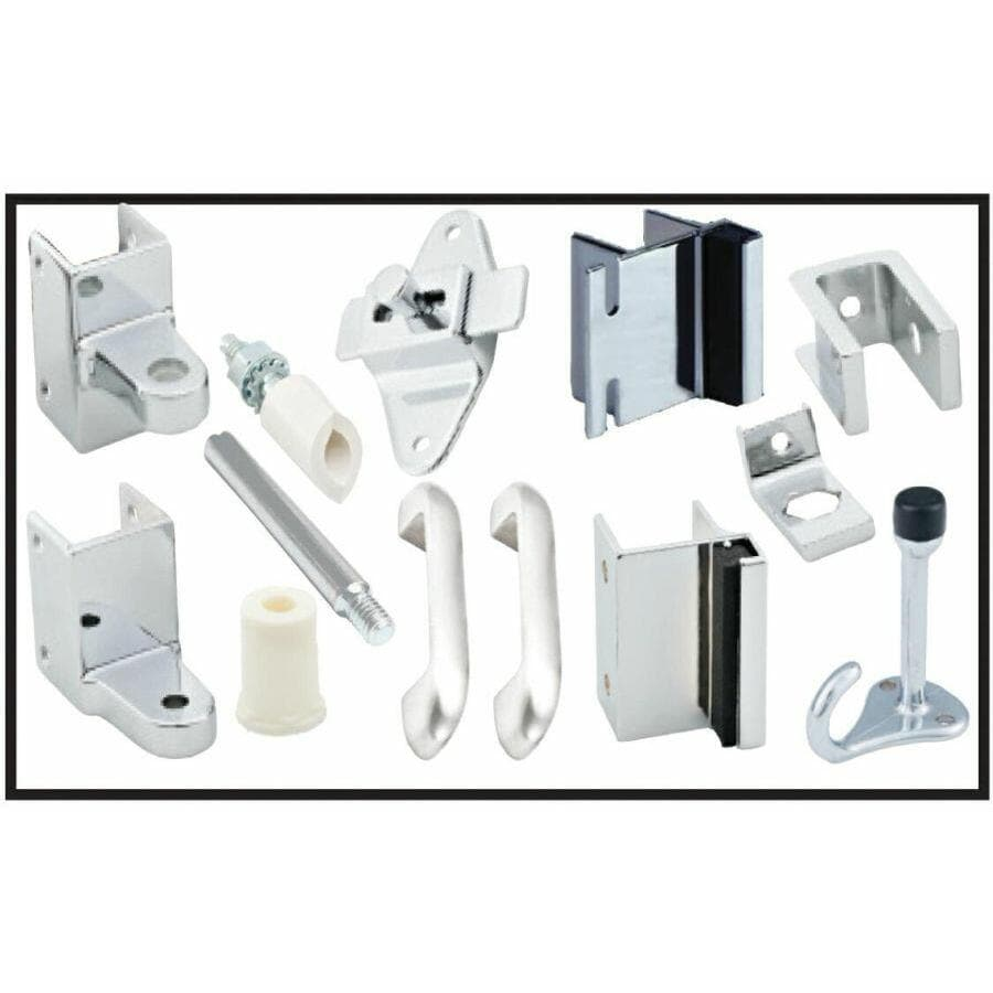 PSISC Chrome Hinge and Door Hardware Set