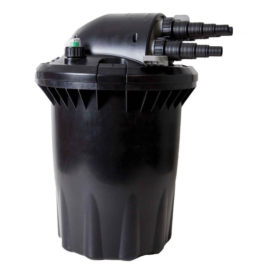 Shop smartpond black pond filters at for Koi pond kits lowes