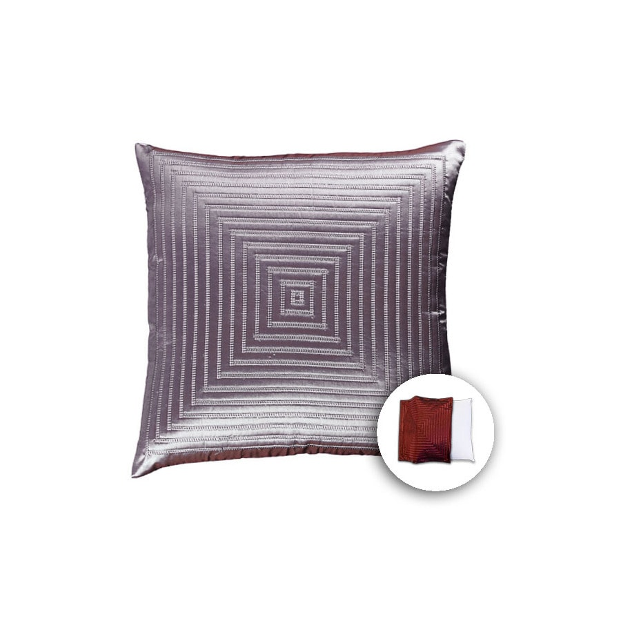 allen + roth 18-in W x 18-in L Spa Blue Square Indoor Decorative Pillow Cover