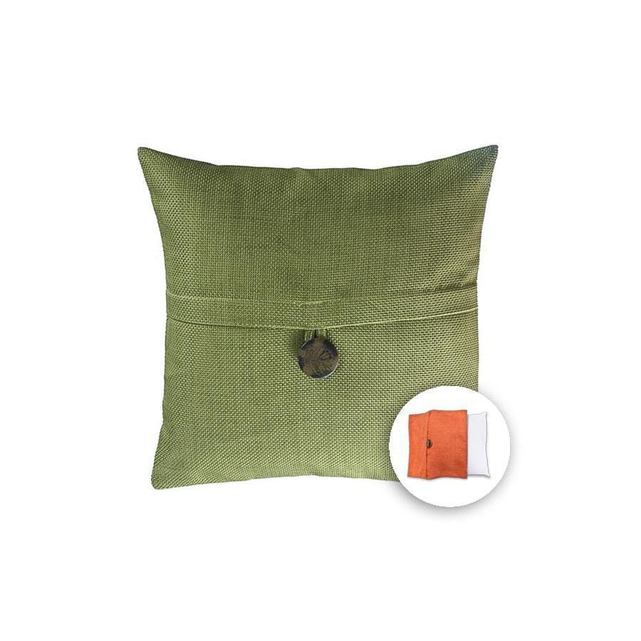 Shop allen + roth 18-in W x 18-in L Meadow Square Indoor Decorative Pillow Cover at Lowes.com