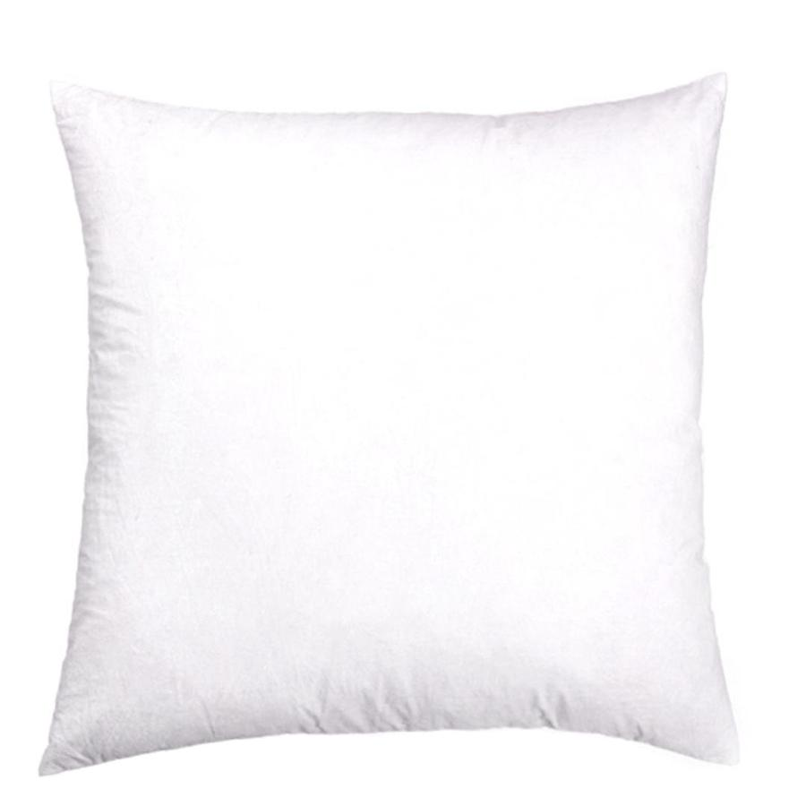 allen + roth 16-in W x 16-in L White Square Indoor Decorative Pillow Insert