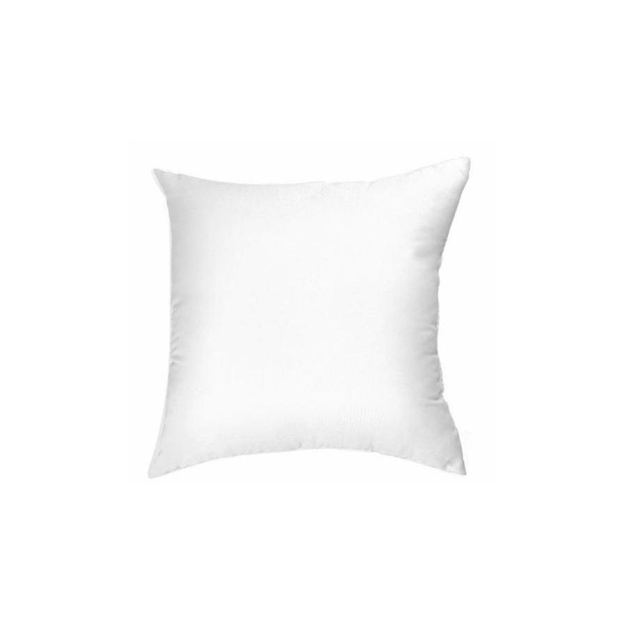 allen + roth 18-in W x 18-in L White Square Decorative Pillow
