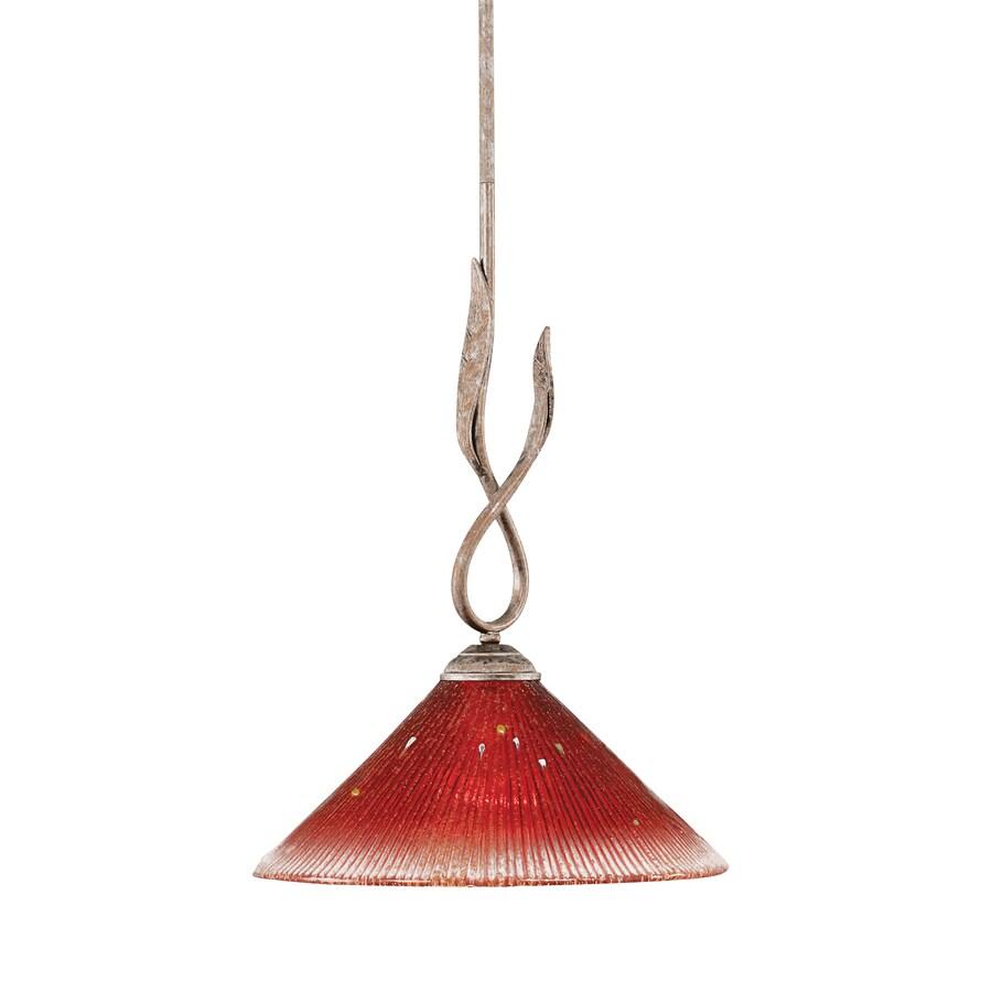 Brooster 10-in Bronze Mini Crystal Pendant