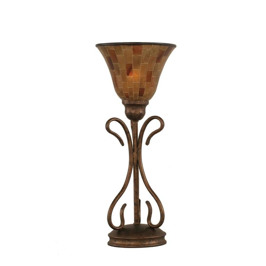 shop divina 3 way bronze indoor table lamp with. Black Bedroom Furniture Sets. Home Design Ideas