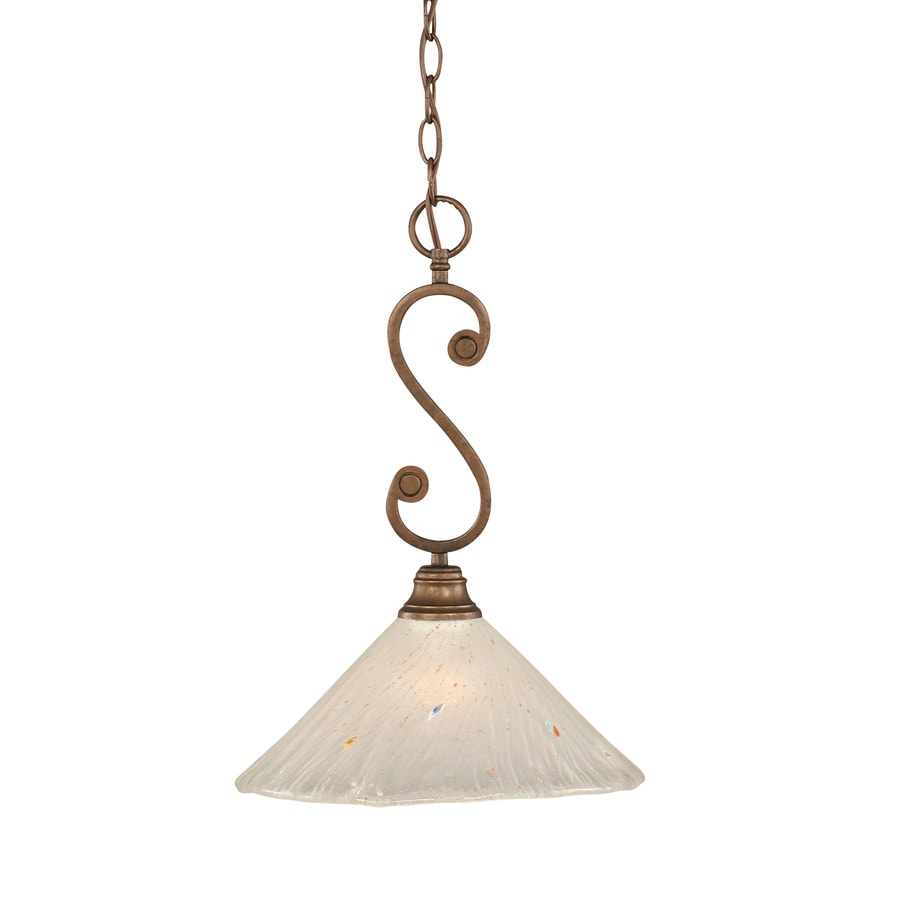 Brooster 12-in Bronze Single N/A Pendant