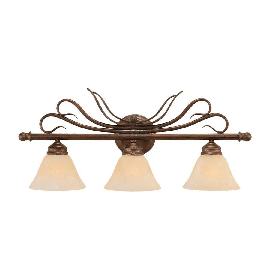 Divina 3-Light Bronze Vanity Light
