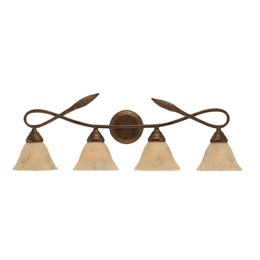 Divina 4-Light Bronze Vanity Light