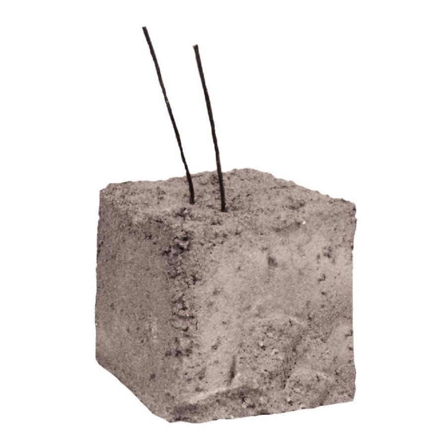 Dobie Concrete Block (Common: 3-in x 3-in x 3-in; Actual: 3.125-in x 3.125-in x 3.125-in)