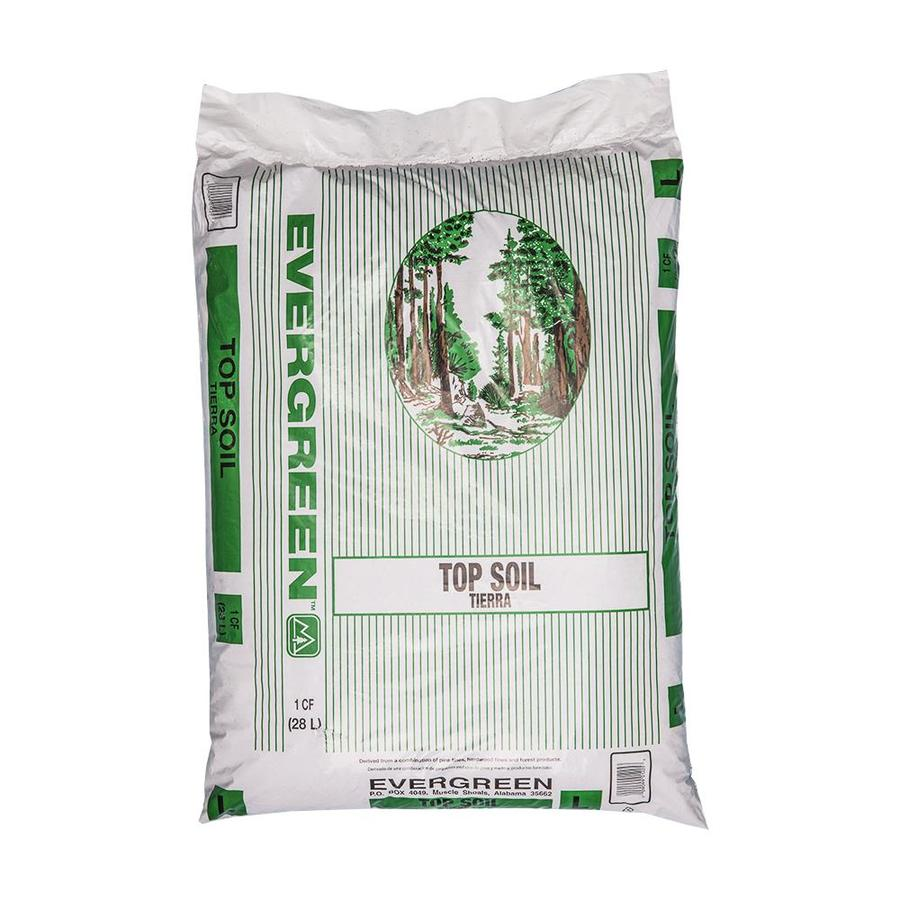 Evergreen 1 Cu Ft Organic Top Soil In The Soil Department At Lowes Com