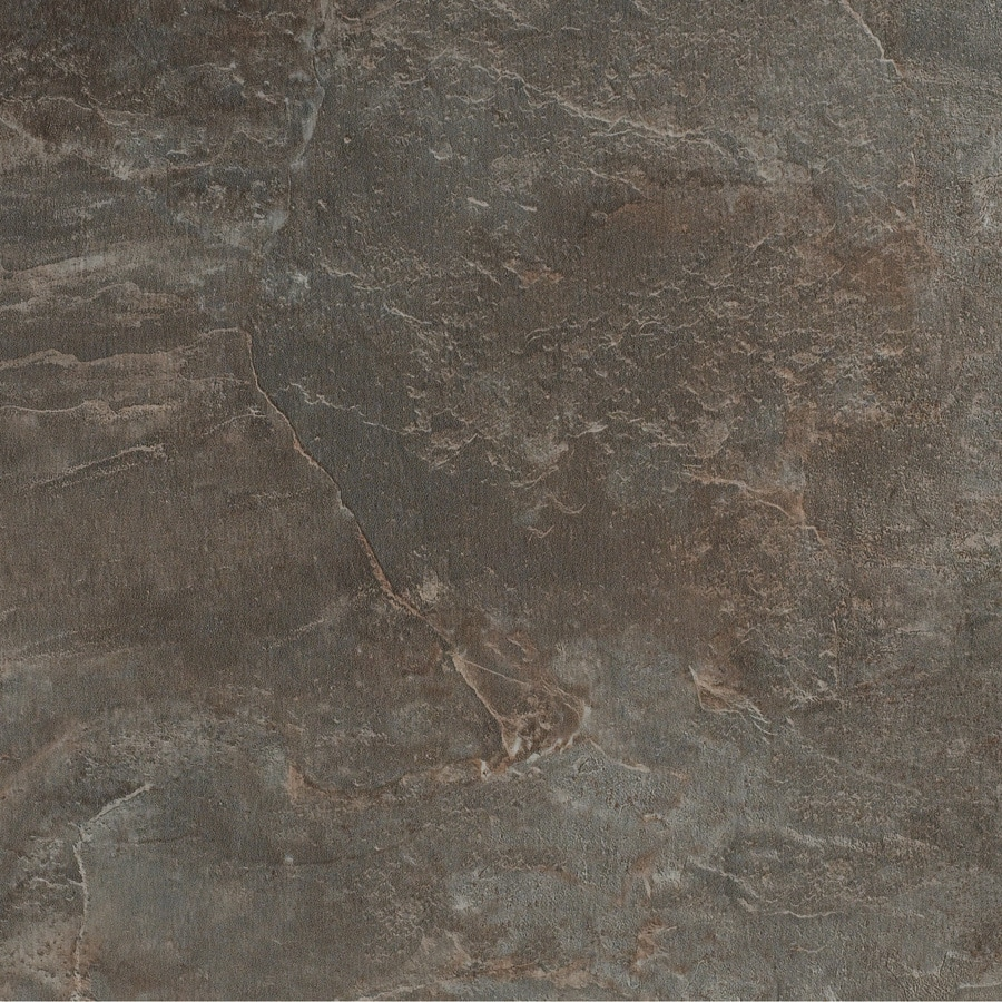 Tarkett Permastone 15-Piece 10-in x 10-in Charcoal Glue (Adhesive) Slate Luxury Commercial Vinyl Tile