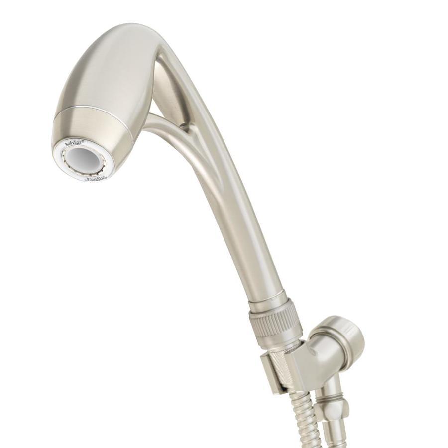 Oxygenics BodySpa 2-in 2.0-GPM (7.6-LPM) Brushed Nickel 1-Spray WaterSense Hand Shower