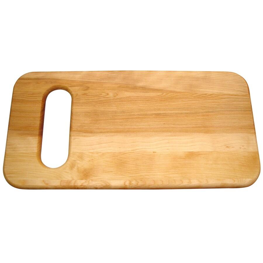 Catskill Craftsmen 24-in L x 12-in W Wood Cutting Board